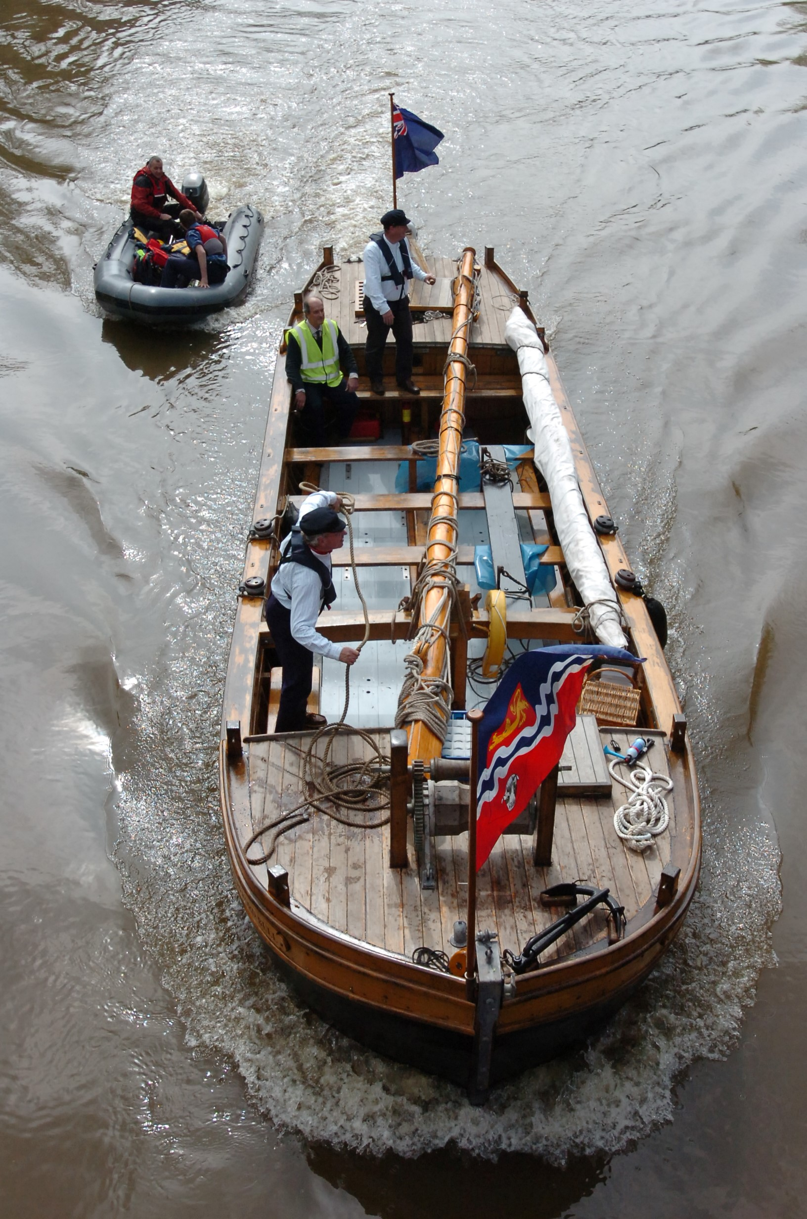 Jubillee boat launched in Hereford
