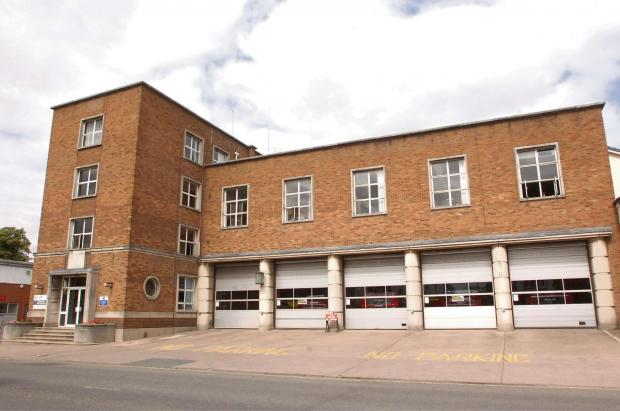 Hereford Fire Station, St. Owen's Street, Hereford. 133406-1 (5763221)