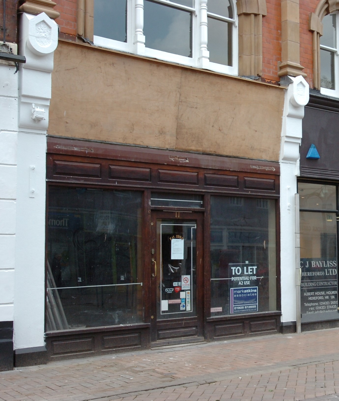 New Hereford betting shop would be sixth for city centre