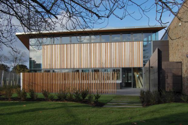 Ledbury Reporter: The Arts Space at Hereford College of Arts' Folly Lane campus. Picture by Paul Younger.