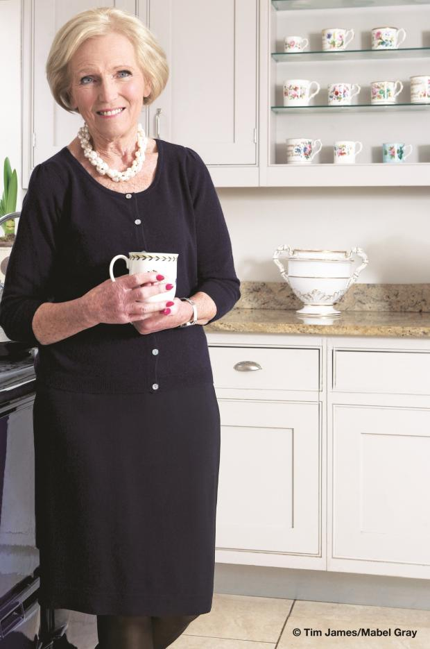 Ledbury Reporter: Mary Berry has been announced as one of this year's festival celebrities.