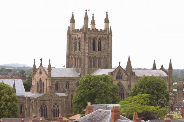 The event takes place at Hereford Cathedral on October 18.