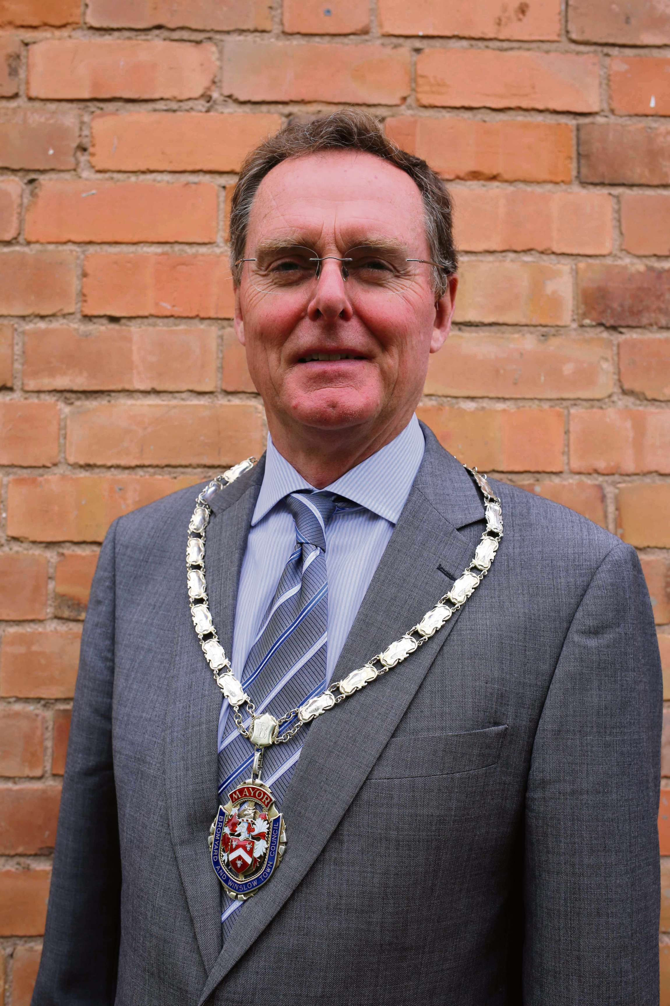 Councillor Alan Seldon is the new Mayor of Bromyard.