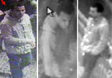 CCTV images of a man police want to speak to in connection with an assault.