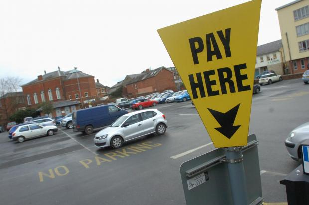 Ledbury Reporter: Drivers will have to pay more to park at the Merton Meadow car park in Hereford.