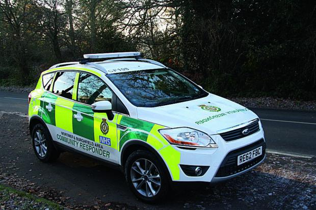 Community First Responders are sought in Ledbury.