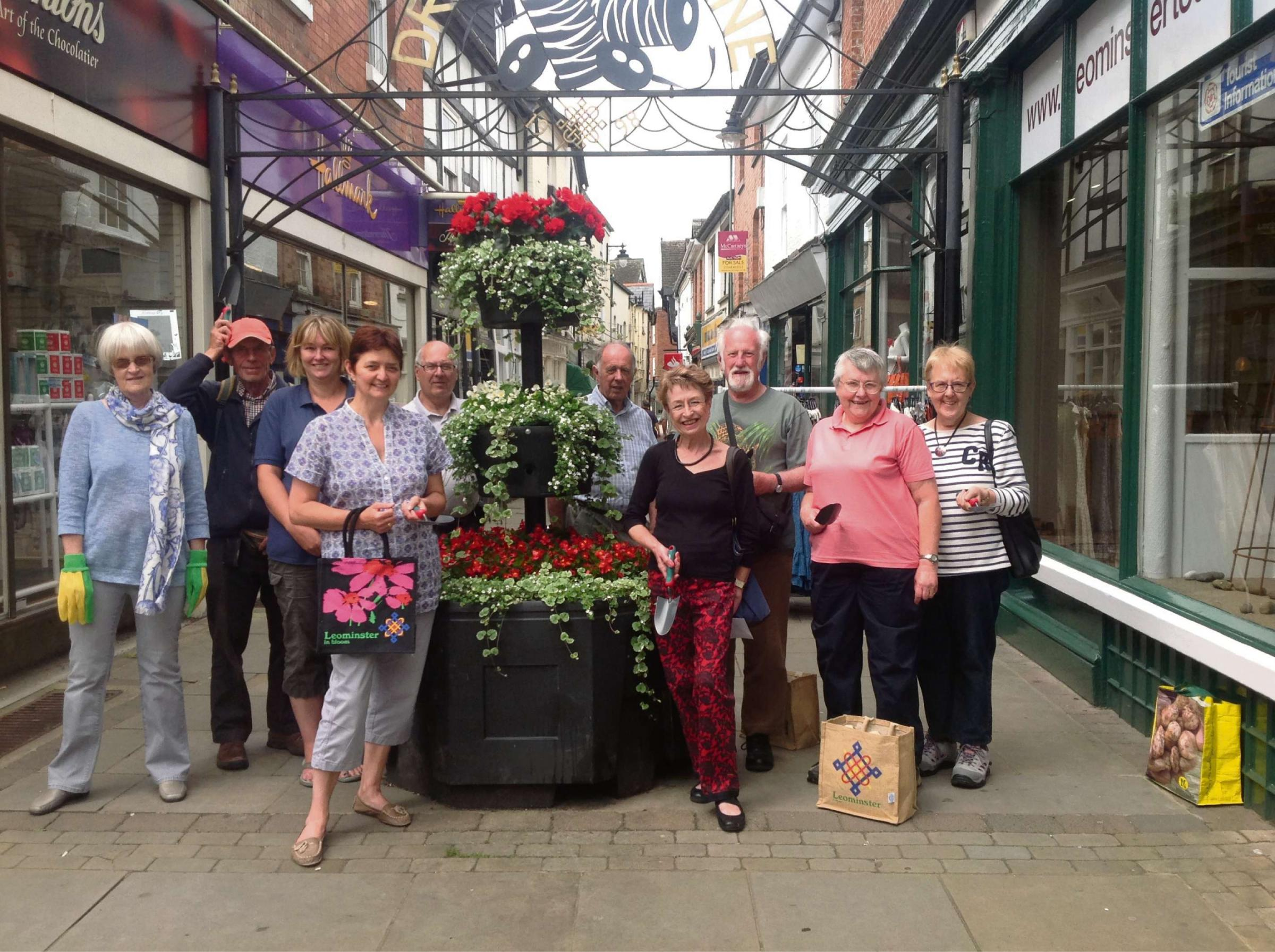 Leominster in Bloom thanks community for keeping town pretty