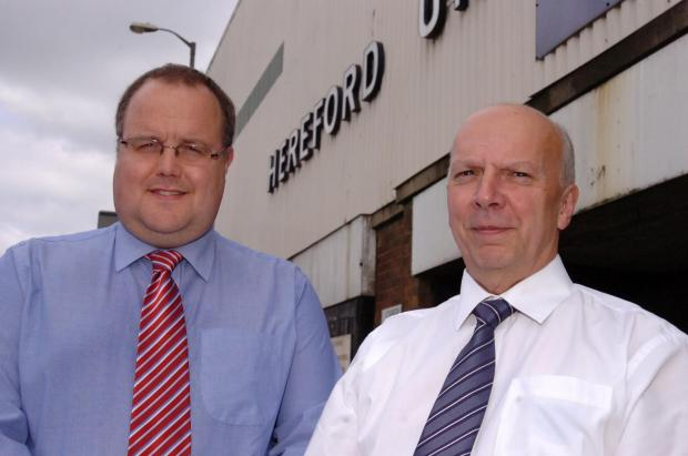 Businessman Jon Hale and HUST Chairman Chris Williams believe they can create a sustainable phoenix club should Hereford United get liquidated.