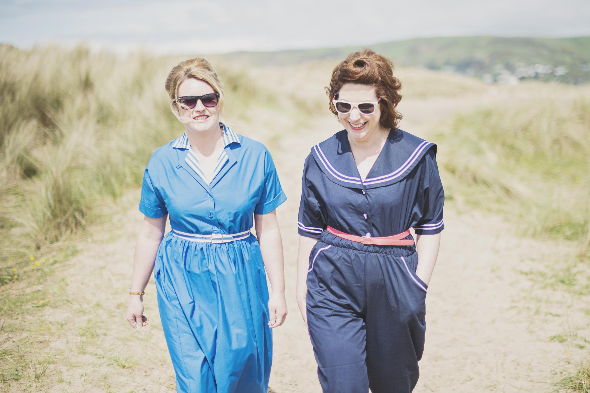 Organisers of Hay's vintage fayre, (from left) are Abi Jenkins and Jo Hodges.