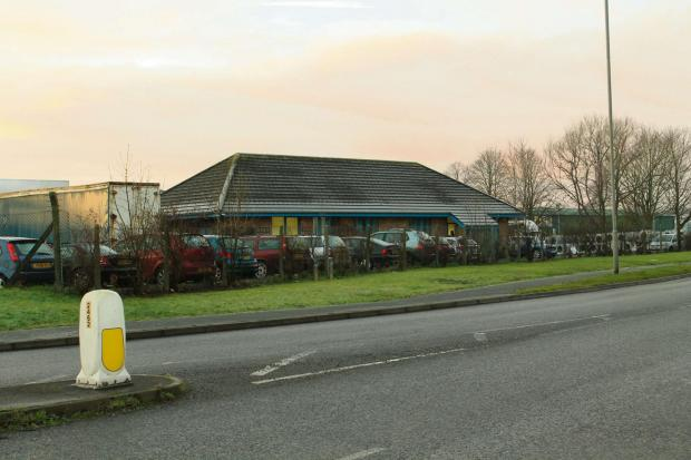 The proposed site of the new supermarket in Leominster.