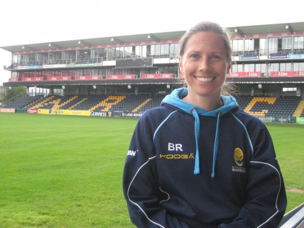 NEW RECRUIT: Brooke Robinson has joined Warriors as osteopath and rehabilitatio