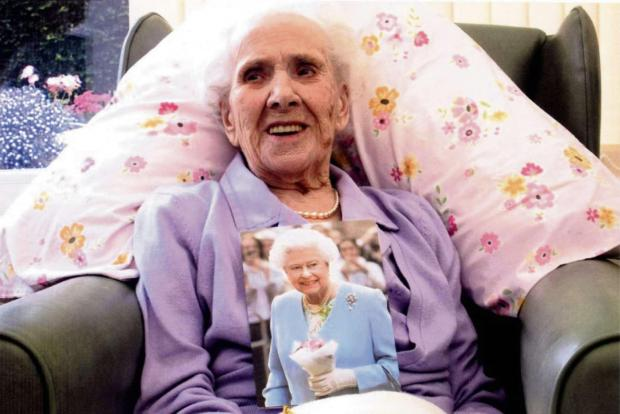Violet Maysey recently celebrated turning 100.