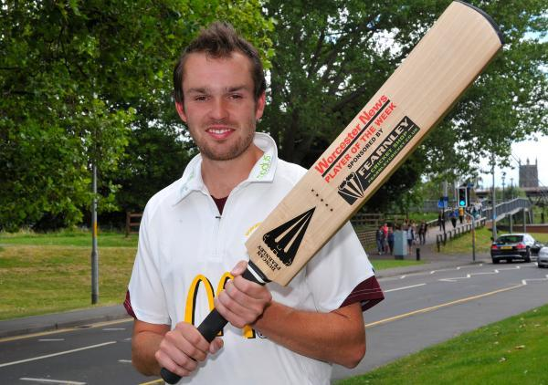 CRICKETER OF THE WEEK: Guy Davies who just missed out on a career-best with 175 not out. 2914650801.