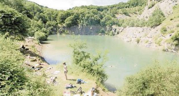 WARNING: People who swim in Gullet Quarry will now risk prosecution