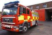 Fire crews were kept busy across the county over the weekend.