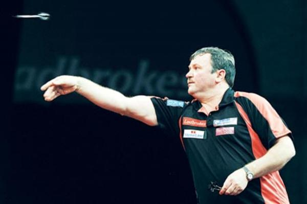 TERRY JENKINS: Early World Matchplay exit.