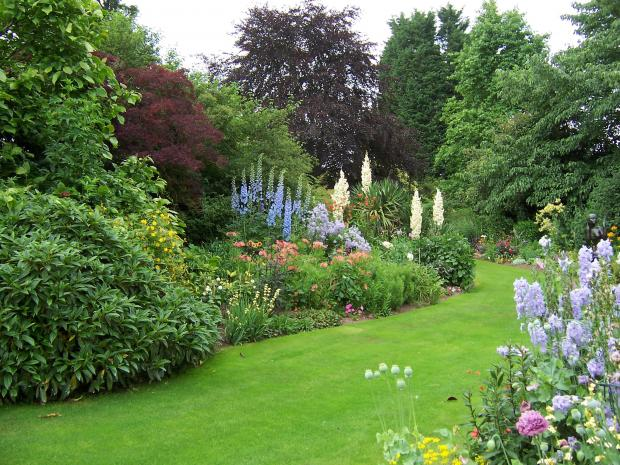 Clive Richards' Ullingswick garden which will be open to the public on August 9 to raise funds for St Michael's Hospice.