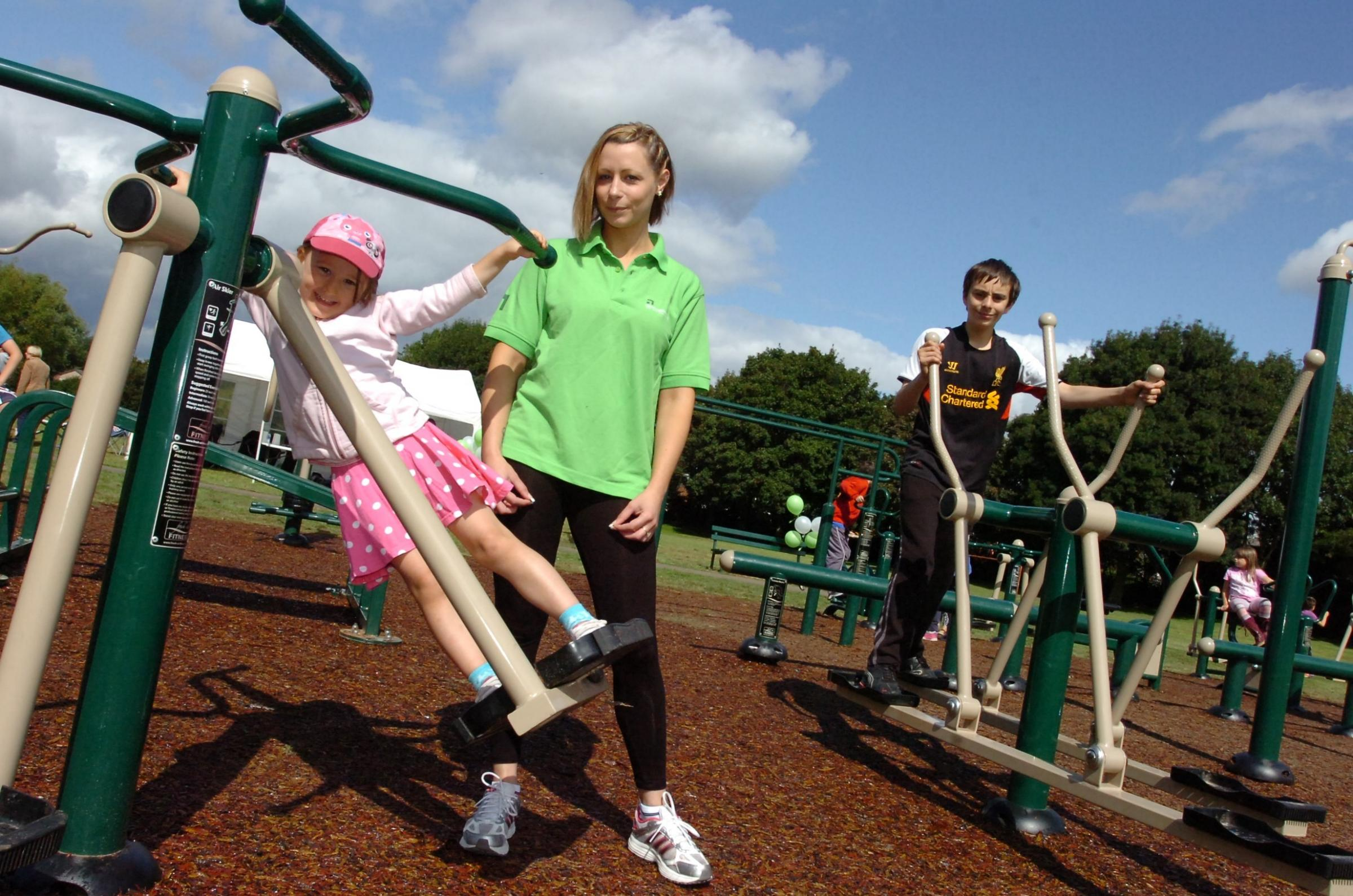 Outdoor gym in Hereford unveiled