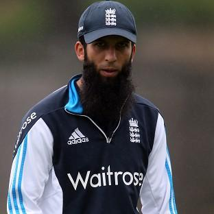 Moeen Ali, pictured, is standing by Alastair Co