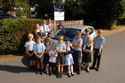 St. Michael's C of E Primary School Headteacher Tim Wilson had to drive a number of children home.
