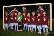 Newtown U-8s benefit from a stylish new kit