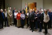 All the members of the committee and guests who attended the meeting on January 21