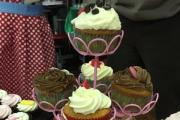 A GROUP committed to bringing Christmas sparkle back to Leominster is holding a cake stall in the town today.