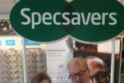 EGG-CITED: Specsavers Dana Sproule, customer service advisor and Adam Towler, optical advisor.