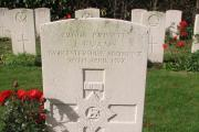 "The war grave of Pte James Evans - Putley's ""unknown soldier"""