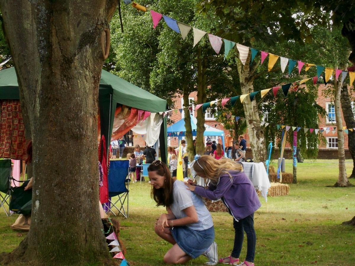 Walled garden fun for Ledbury Festival | Ledbury Reporter