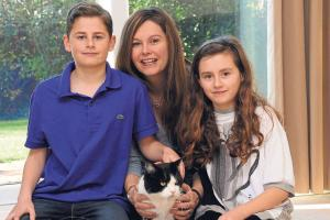 Missing cat last seen by Belmont owners more than two years ago turns up safe and well