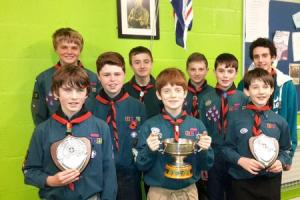 Ledbury Scouts make a double splash in competition