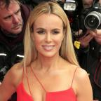 Ledbury Reporter: Amanda Holden lies naked on a bed of cabbages for Peta