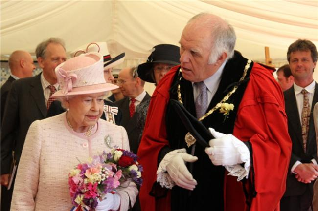 Meeting the Queen in Jubilee year