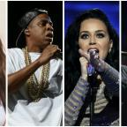 Ledbury Reporter: Bringing out the big guns! J-Lo, Jay Z, Katy Perry and Jon Bon Jovi will all stage concerts for Hillary Clinton