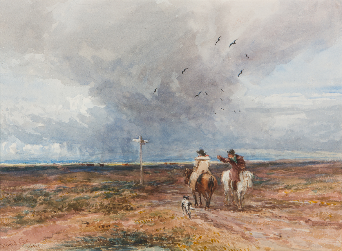 David Cox and his Contemporaries