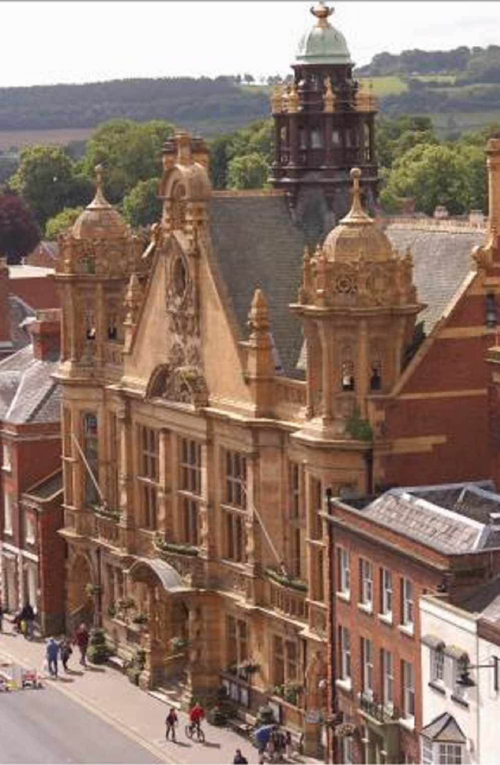 An inquest was held at Hereford Town Hall into the death of Anthony Miles Wynn