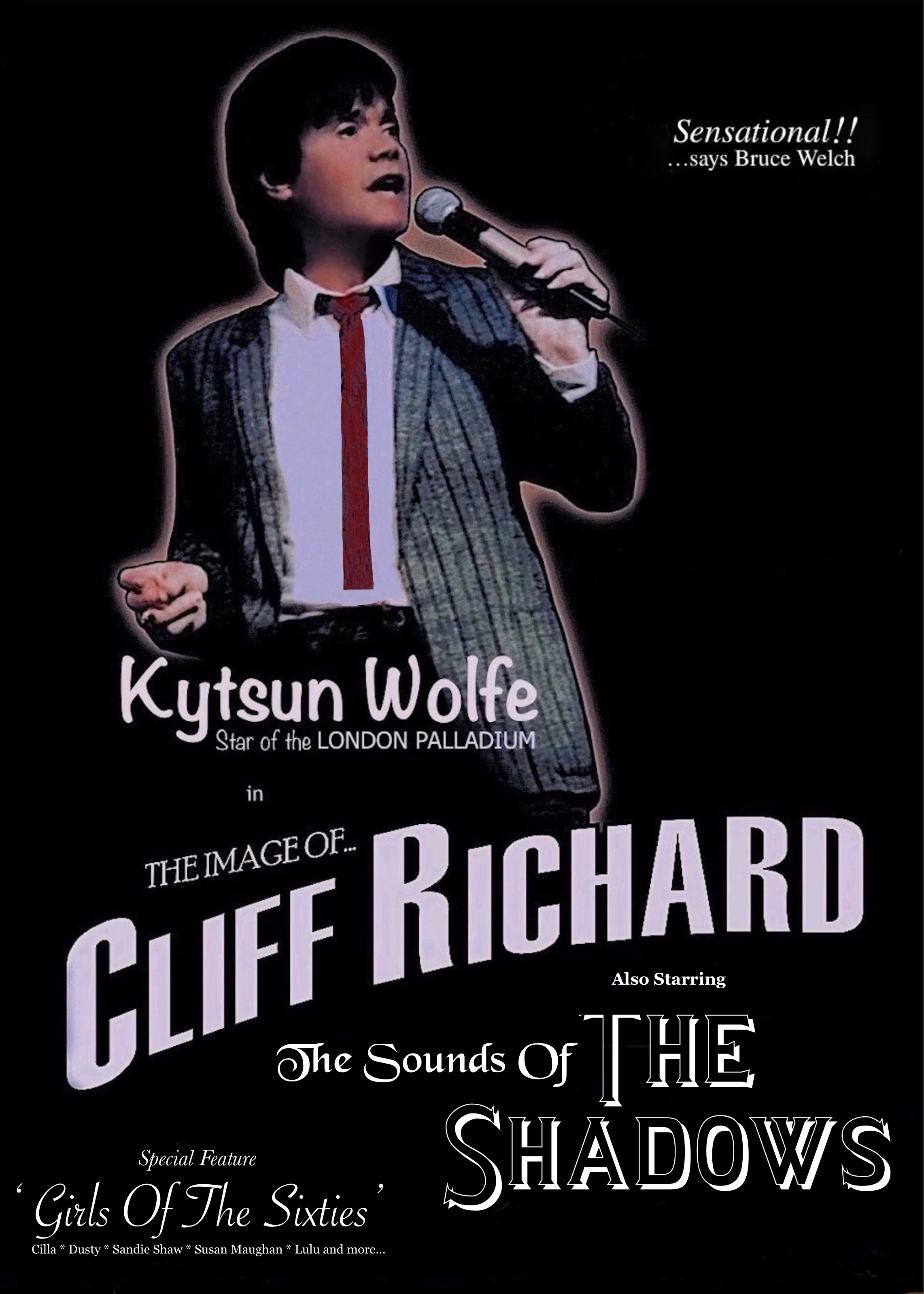 The Image of Cliff & The Shadows - Starring Kytsun Wolfe