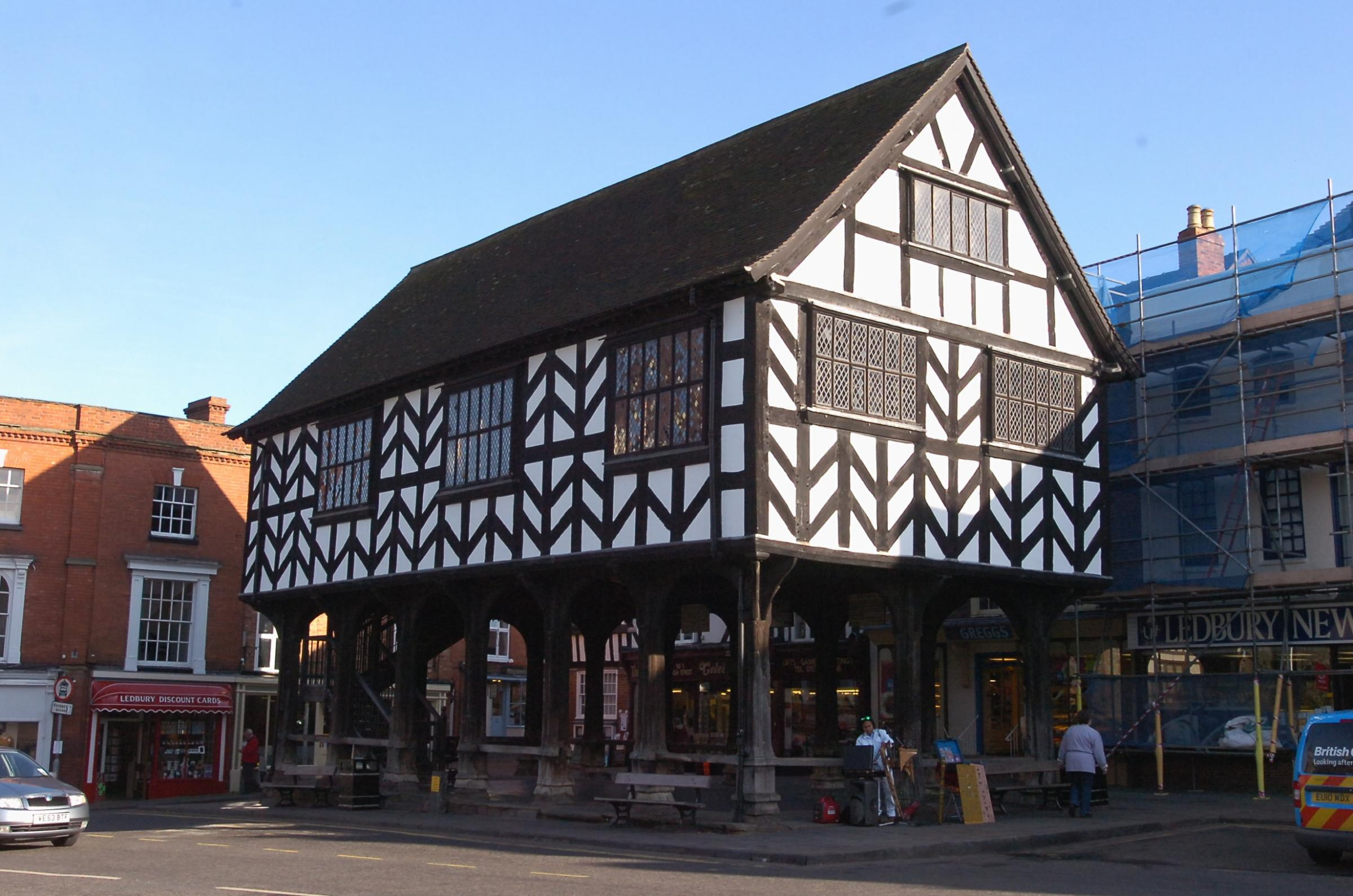 ICON: Ledbury Market House, the traditional meeting place for Ledbury Town Council