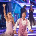 Ledbury Reporter: Charlotte Hawkins and Brendan Cole are out of Strictly (Guy Levy/BBC)