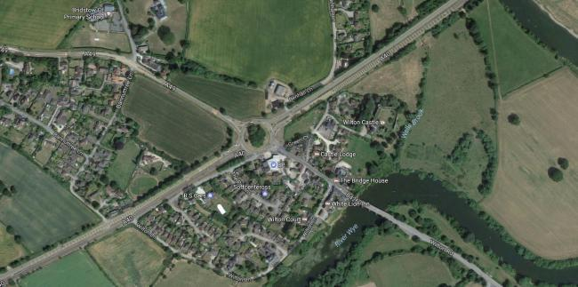Delays at Wilton roundabout following crash