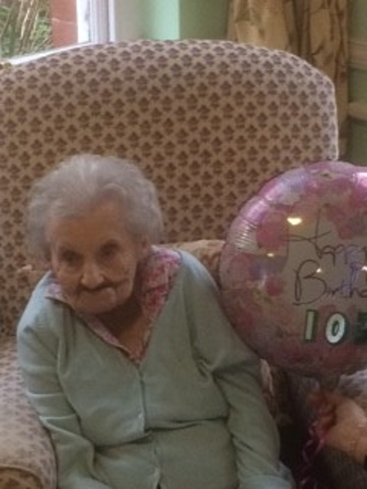Dymock resident Grace Priest turned 103 last week