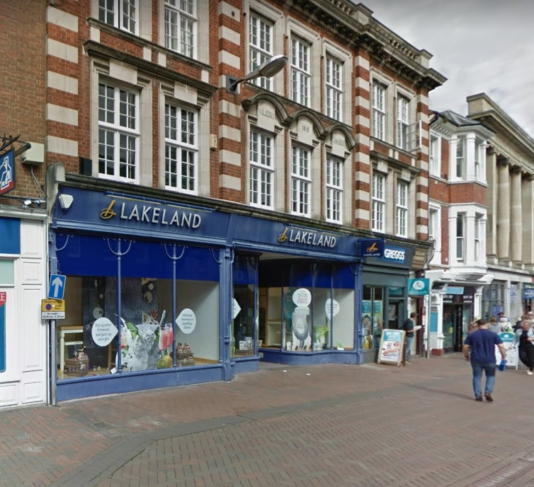 Lakeland in Commercial Street, Hereford. Image from Google Maps