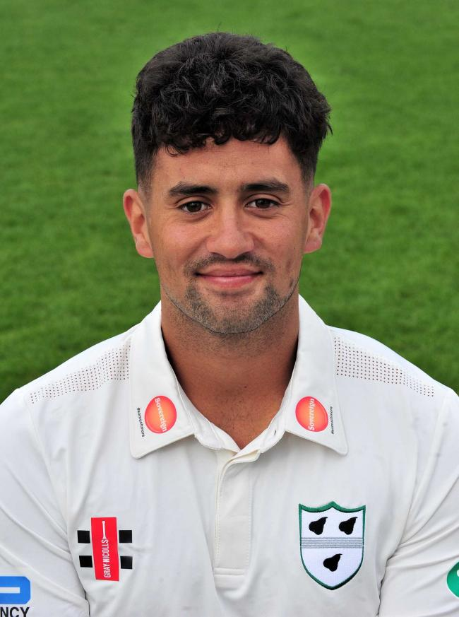 Ombersley's Worcestershire ace Brett D'Oliveira