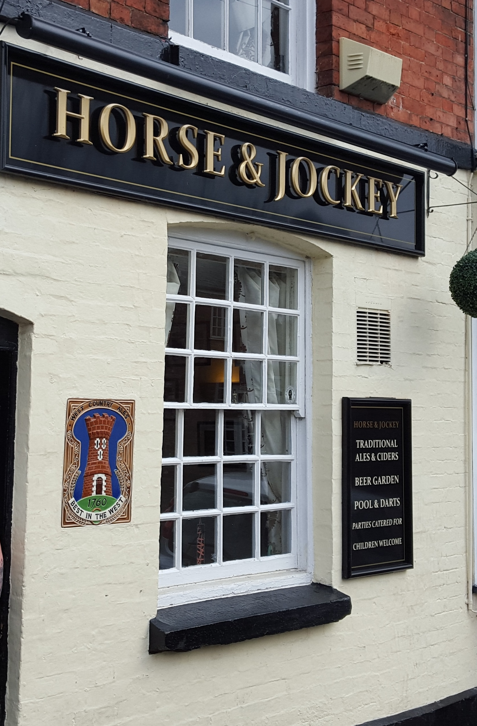 The Horse and Jockey in Ross-on-Wye.