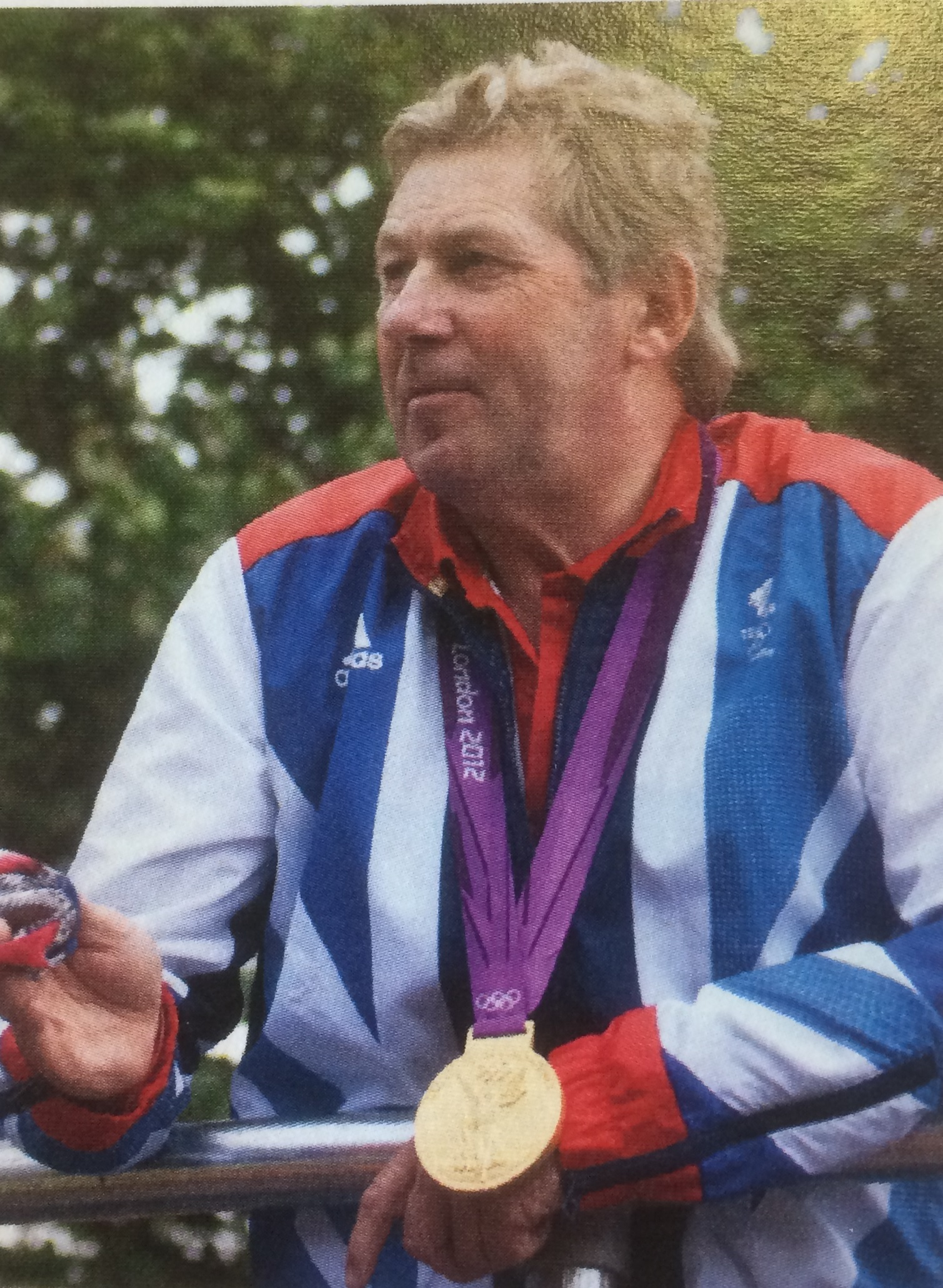 Nick Skelton will be speaking in Leominster next month