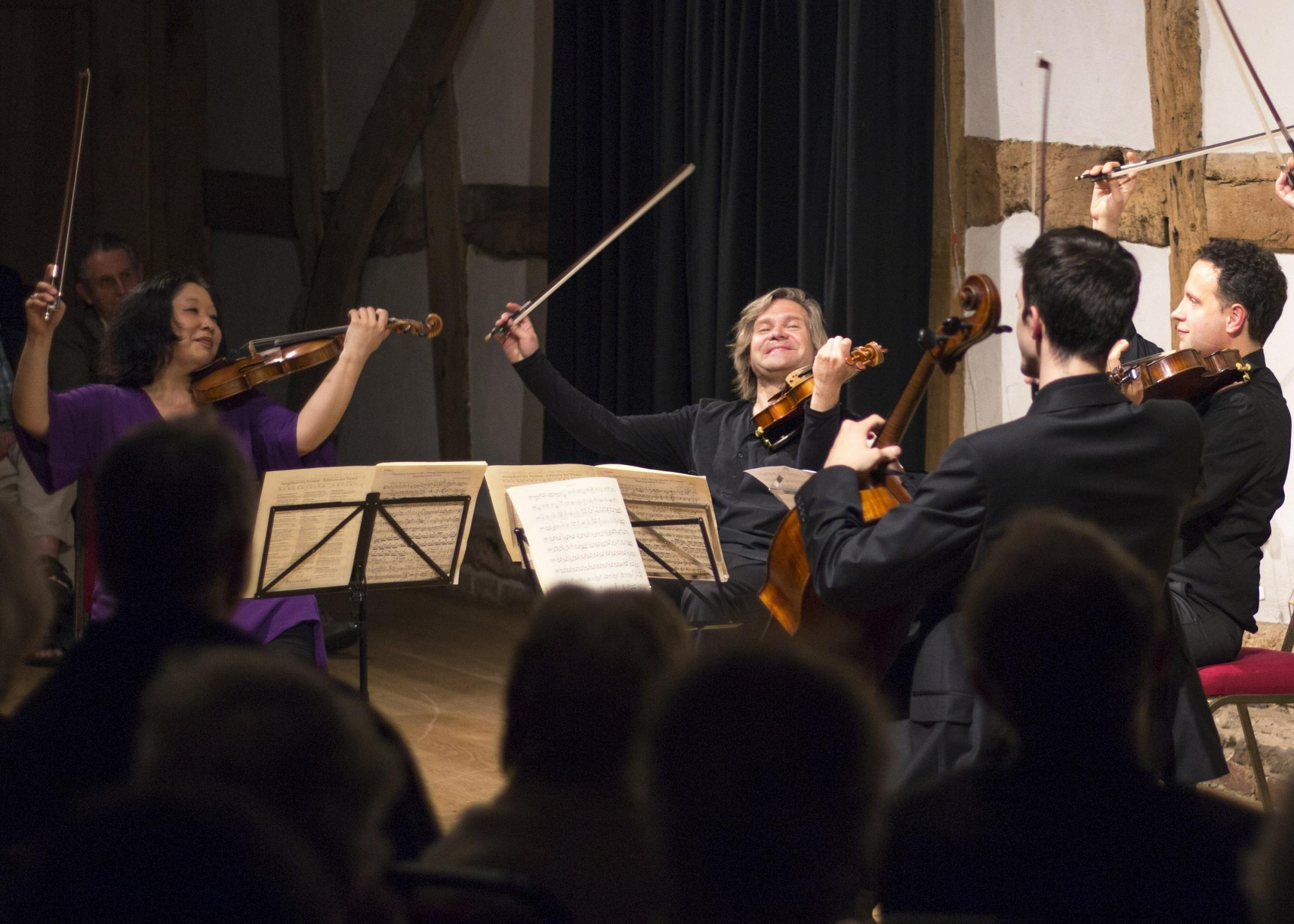 JOYFUL: Hellens is a celebrated venue for concerts