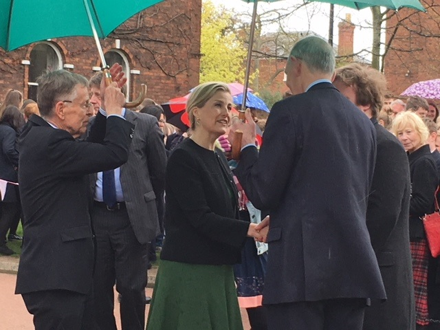 Countess of Wessex arrives in Hereford