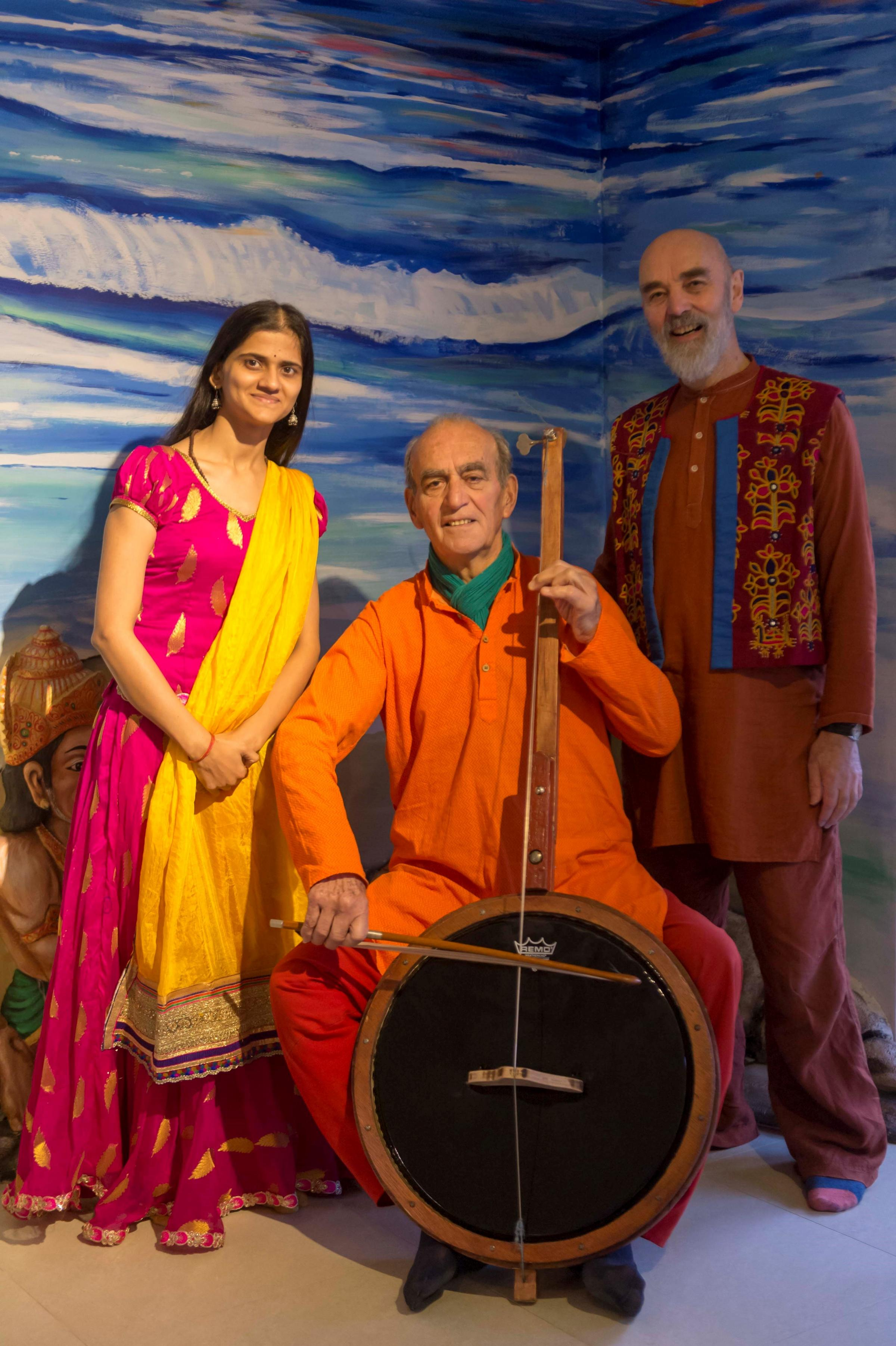 INSPIRING: Awantika Dubey, William Toob y and Gilles Petit