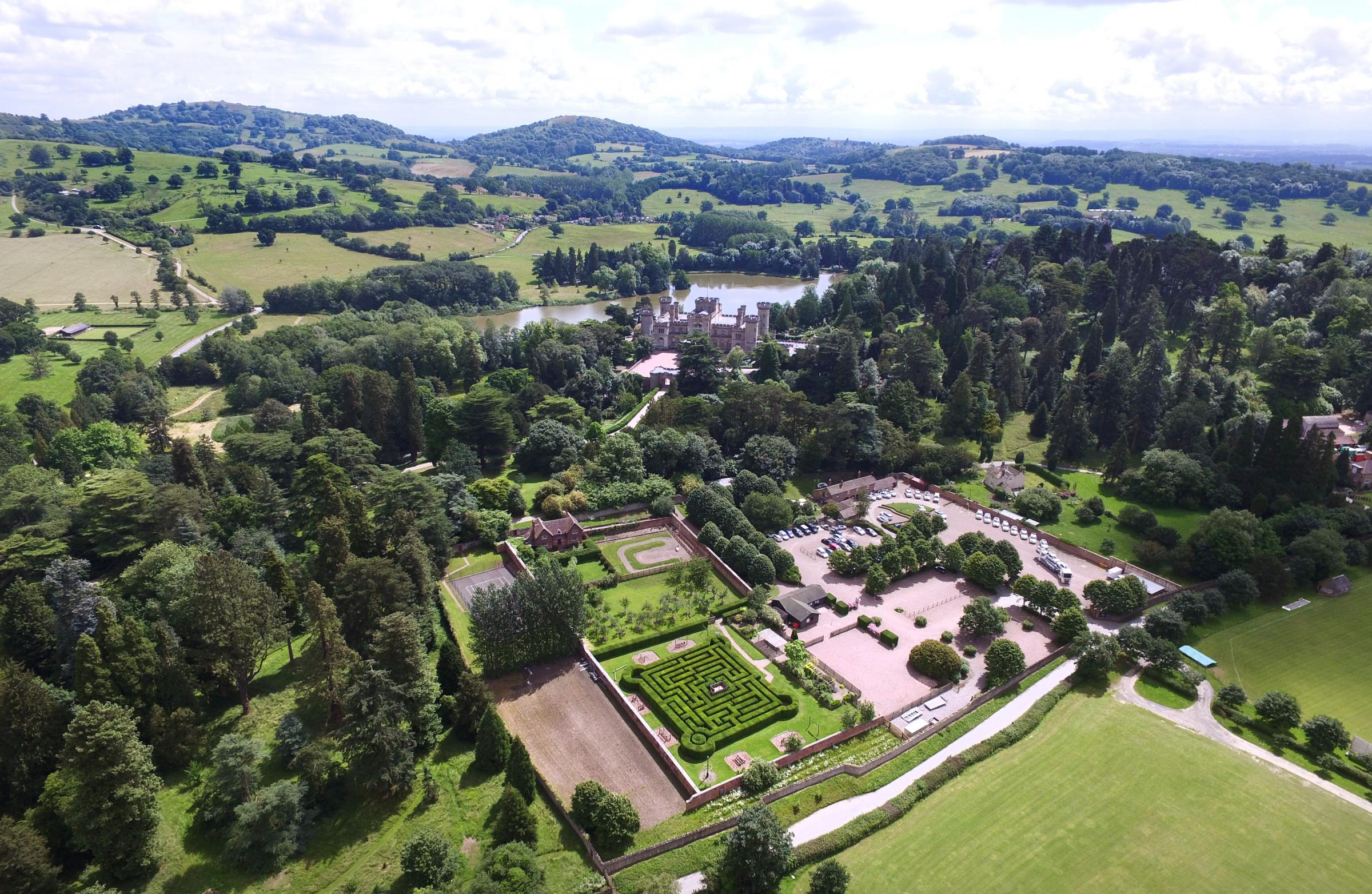 The impressive grounds at Eastnor Castle will host a weekend dedicated to vintage fun